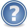 Blue Question Mark Icon image #26804
