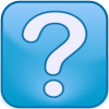 Blue Question Mark Icon image #13455