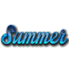 Blue Summer Text image #41160