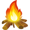 Bonfire Fire, Fire, Bonfire, Flame  Image And Clipart image #47552