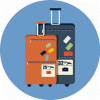 Briefcase, Career Baggage Icon image #24203