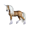 Brown Horse, Unicorn Clipart image #48622