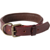 Brown Leather Dog Collar Picture image #48110