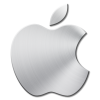 Brushed Metal Apple Mac Icon image #3331