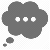 Bubble, Cloud, Thought Icon image #6630
