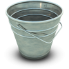 Bucket Empty Image Icon image #31195