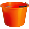 Bucket Orange, Sand Bucket  Transparent Image image #48896