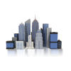 Building City Town Icon image #3520