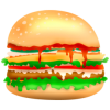 Fast Food Vector image #41605