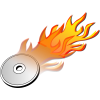Icon Drawing Burn Disk image #21279