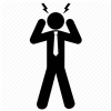 Burnout, Damage, Headache, Pain, Problem, Sick, Stress Icon | Icon ... image #5035