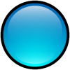 Button Blank Blue Icon image #13456