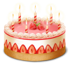 Cake, Birthday Icon image #10200