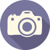 Camera Icon | Long Shadow Media Iconset | PelFusion image #50