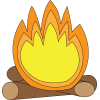 Collection Campfire Clipart image #33964