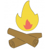 Best Campfire Clipart image #33970