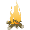 Download Campfire Icon image #33973