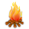 Campfire Transparent Background image #33955