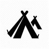 Camping Tent Icon image #13509