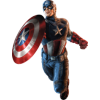 Captain America Vector Free Download image #32555