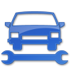 Car Repair Blue 2 Icon | Points Of Interest image #2408