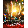 Card New Year Best 2019 Happy New Year image #47296