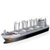 Cargoship Icon | Transport image #361