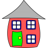 Cartoon House Clipart image #45363