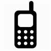 Icon Cell Phone Drawing image #7427