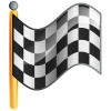 Checkered Flag Free Image Icon image #26915