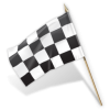 Transparent Icon Checkered Flag image #26907