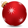 Christmas Ball Red Icon image #4642