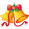 Christmas Bell  Clip Art image #30815