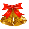 Christmas Bell  Clip Art image #30819