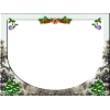 Christmas Frame With Tree Borders image #47108
