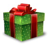 Christmas Gift Icon Download image #34997