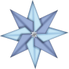 Clipart  Christmas Star image #33910