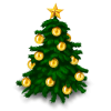 Christmas Tree Save Icon Format image #23750