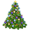 Christmas Tree Ornaments Transparent image #35275