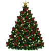Christmas Tree Ornaments Transparent Image image #35272