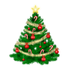 Christmas Tree Ornaments Transparent Pictures image #35273
