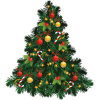 Image  Transparent Christmas Tree image #31854