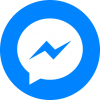 Circle Social Facebook Messenger Logo image #44099