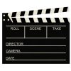 High Resolution Clapperboard  Icon image #30949