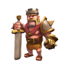 Clash Of Clans, King Icon Vector image #45749