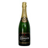 Cleaned Alcohol The Bottle Of Lanson Brand Background Image image #48931