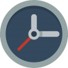 Clock Icon | Small & Flat Iconset | Paomedia image #10763