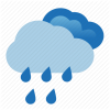 Cloud, Rain Icon image #11034