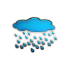 Cloud, Rain, Weather Icon image #11047