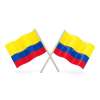 Colombia Flags Icon image #10276